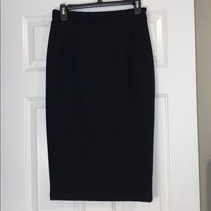 NWOT Halogen Pencil Skirt Full-Zip Size 4